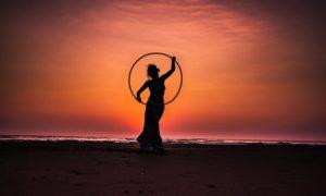 einfach abnehmen mit hula hoop reifen